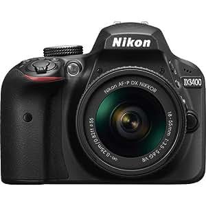 Nikon D3400 + AF-P 18-55mm Digital Camera and Lens STD Kit (Australian warranty)