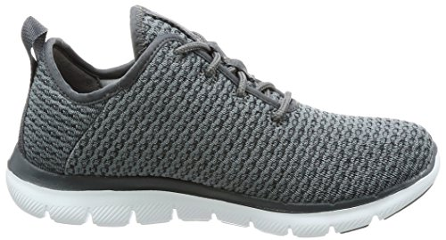 Trainers Women's Charcoal Skechers 2 Flex Appeal Move Bold 0 YWqg60wv