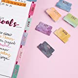 Erin Condren Monthly Adhesive Tabs, Colorful