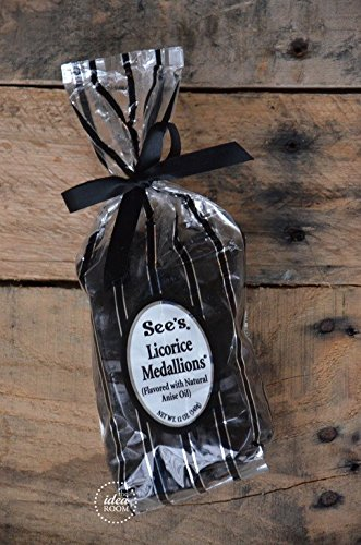 See's Candies 12 oz. Licorice Medallions(r)