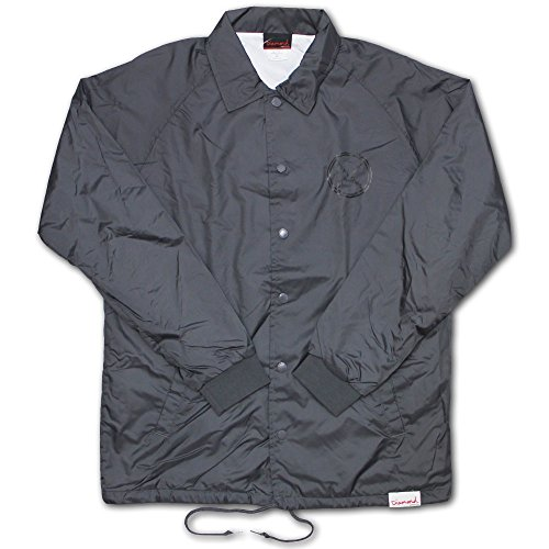 Diamond Supply Co Crossed Up Coach Jacket Grey by Diamond Supply Co