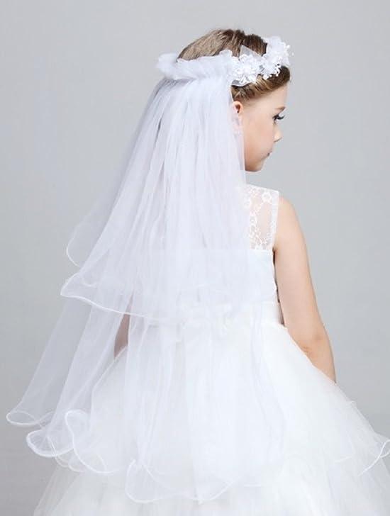Amazon Shop Ginger Wedding Girls 1T First Communion Veil Flower One Size White Child S Clothing