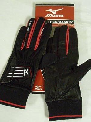Mizuno Thermagrip Winter Gloves MENS PAIR 2011 Blk