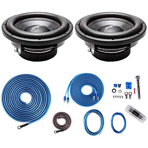 (2) Skar Audio VD-10 D2 10