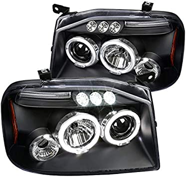 Amazon.com: Nissan Frontier par de luces delanteras LED ...