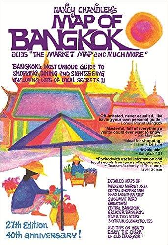 Nancy Chandlers Map of Bangkok 27th Edition Nima Chandler Nancy