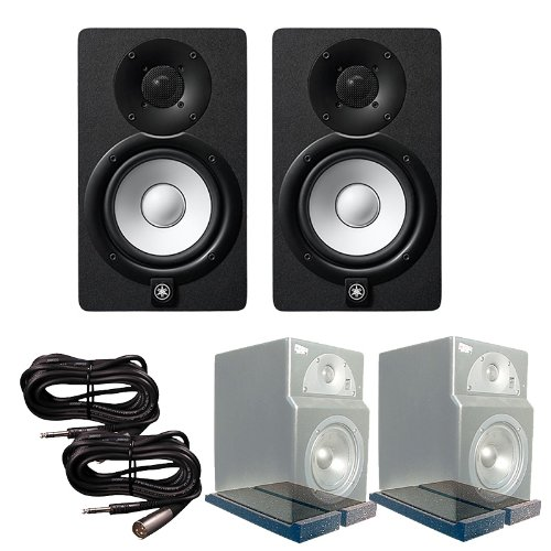 Yamaha HS5 Monitors Primacoustic Isolation