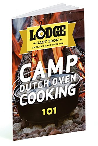 Lodge 8 Quart Camp Dutch Oven. 12 Inch Pre Seasoned Cast Iron Pot and Lid with Handle for Camp Cooking by Lodge (Image #2)