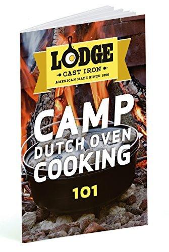 7.57 litre 8 quart Pre-Seasoned Cast Iron Outdoor//Camp Deep Dutch Oven Lodge 30.48 cm