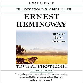 True at First Light: A Fictional Memoir