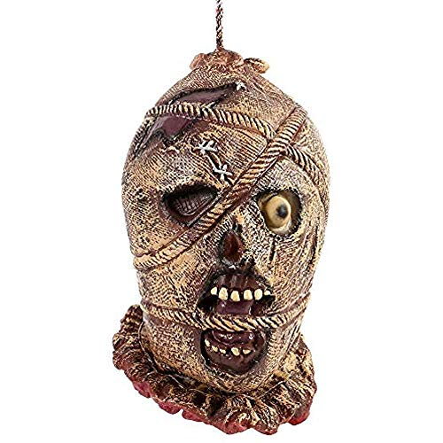 Gatton Halloween Decorations Decorative Masks Severed Head Hanging Props Bloody Cut Off -