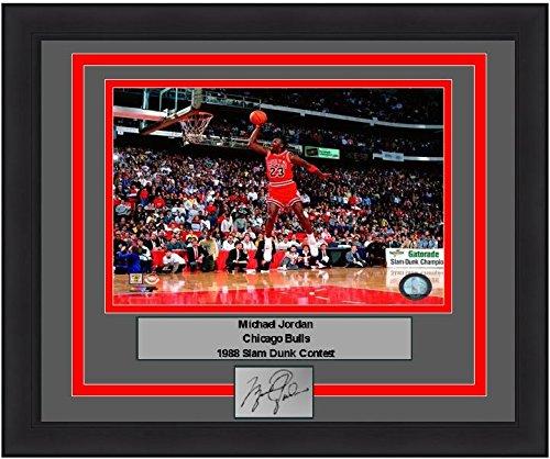 (Bulls Michael Jordan 1988 Slam Dunk Contest 8