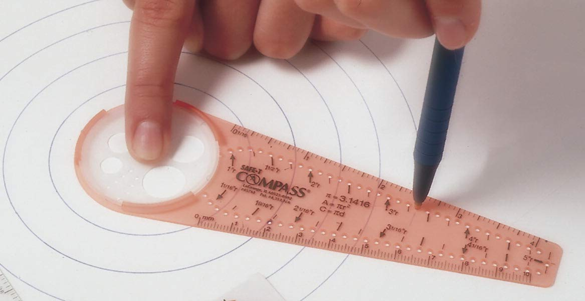 Learning Resources 031-1486 Safe-T Compass, Plastic, 10'' Size by Learning Resources (Image #1)