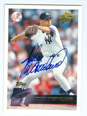 John Wetteland autographed baseball card (New York Yankees) 2005 Topps #83 Fan Favorites 2005 Topps Autographed Baseball Card
