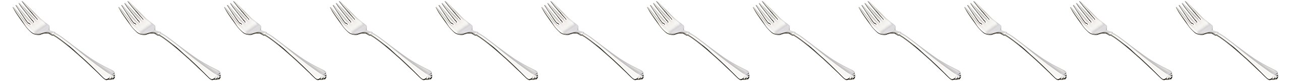 Oneida Foodservice 2273FSLF Juilliard Salad Fork (Set of 12) 12 Stainless Steel