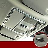 HOTRIMWORLD Interior Front & Rear Roof Reading Light Trim Cover 3pcs for Jaguar F-Pace X761 2016-2019