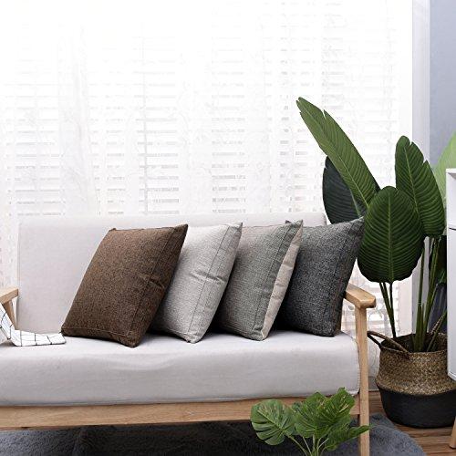 Sendia Throw Pillow Case Cushion Cover Cotton Linen Home Dec
