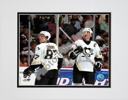 Sidney Crosby and Mario Lemieux 2005 / 2006