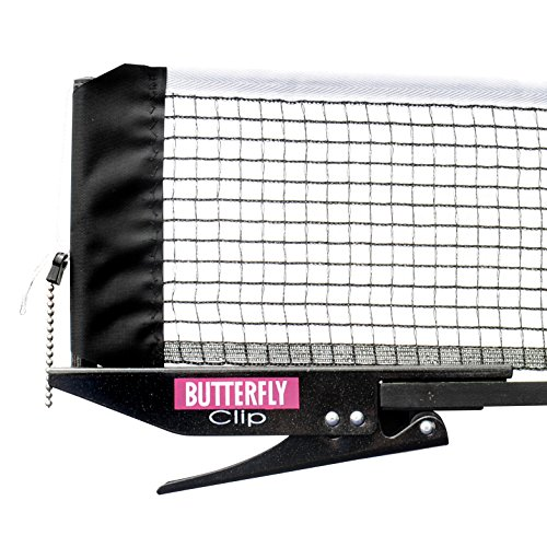 BUTTERFLY Clip Table Tennis Net & Post Set by Butterfly