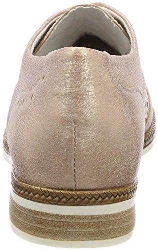 Remonte Oxford silver lightrose De Rosa Para Cordones rose D2601 Zapatos Mujer xrUpw4r