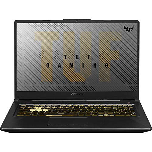 "ASUS TUF A17 Gaming and Entertainment Laptop (AMD Ryzen 7 4800H 8-Core, 64GB RAM, 1TB PCIe SSD, NVIDIA GTX 1660 Ti, 17.3"" Full HD (1920x1080), WiFi, Bluetooth, Webcam, Win 10 Home) with USB Hub"