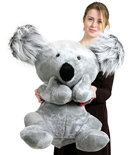 ade Large Stuffed Koala Bear 26 Inches Soft Animal Made in The USA ()