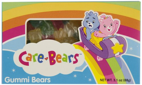 Care Bears Candy - Taste of Nature Inc. Care Bears Gummi Bears, 3.1 - Ounce Boxes (Pack of 30)