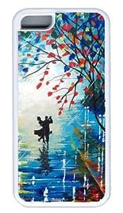 Diy iphone 5 5s case Beautiful Dancing DIY Rubber White Best FashionIphone 5 5S