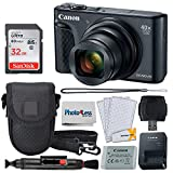 Cheap Canon PowerShot SX740 HS Digital Camera (Black) + 32GB Memory Card + Point & Shoot Case + USB Card Reader + Lens Cleaning Pen + LCD Screen Protectors + Photo4Less Cleaning Cloth – Accessory Bundle
