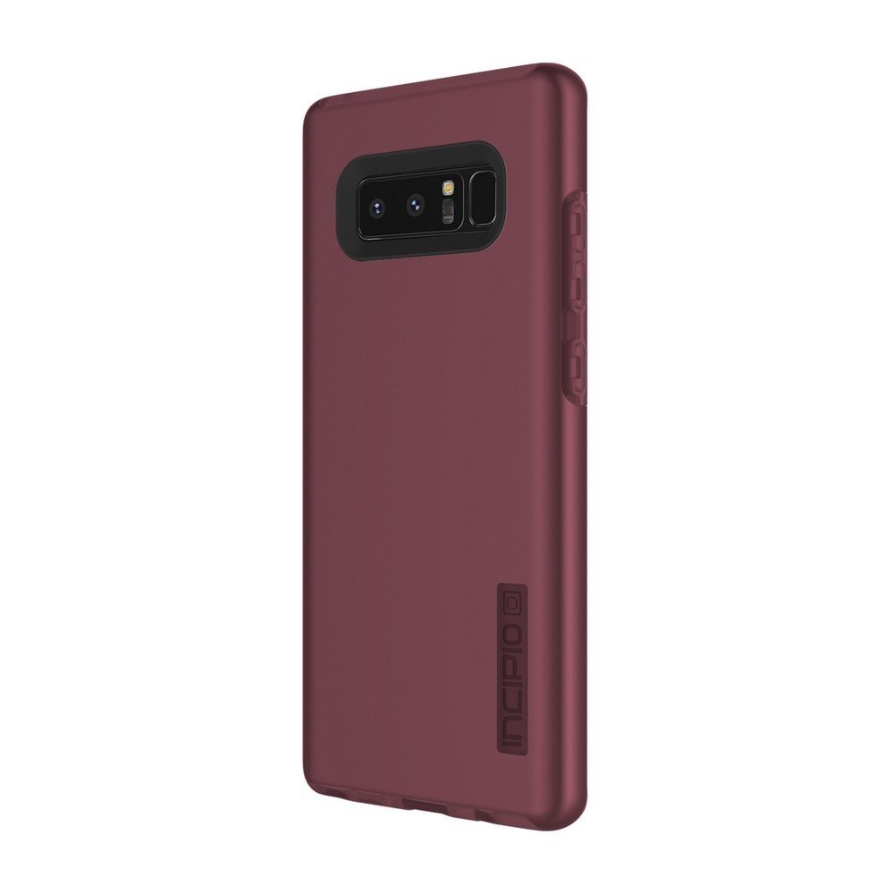 Incipio DualPro Samsung Galaxy Note 8 Case with Shock-Absorbing Inner Core & Protective Outer Shell for Samsung Galaxy Note 8 - Merlot