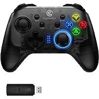 BINDEN Control T4 con Receptor Inalámbrico 2.4GHz para Nintendo Switch y PC, Diseño Tipo Xbox Ideal para Steam, Botones Configurables, Sin Lag, Función Turbo, 5 Horas de Batería.