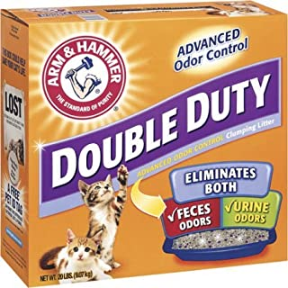 product image for Arm & Hammer Double Duty Advanced Odor Control Clumping Cat Litter, 20 Lb