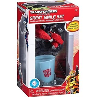 Transformers Optimus Prime Great Smile Toothbrush Set, 3pc (B00A46CMQA)   Amazon price tracker / tracking, Amazon price history charts, Amazon price watches, Amazon price drop alerts