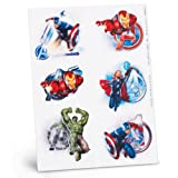 Avengers Temporary Tattoo Sheets Party Accessory