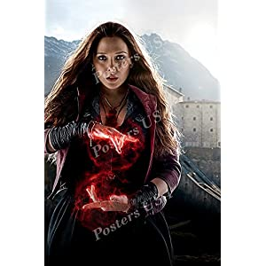 Posters-USA-Marvel-Avengers-Age-of-Ultron-Scarlet-Witch-Movie-Poster-GLOSSY-FINISH-FIL249-16-x-24-41cm-x-61cm