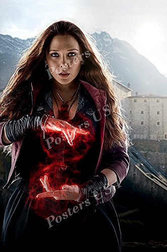 (Posters USA Marvel Avengers Age of Ultron Scarlet Witch Movie Poster GLOSSY FINISH - FIL249 (16