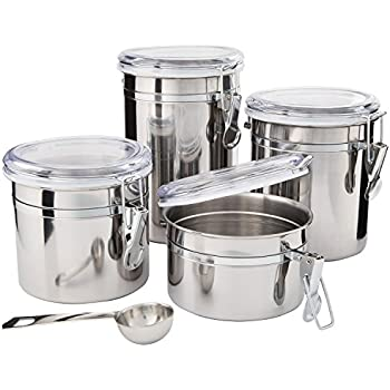 beautiful kitchen canisters kitchen canisters stainless steel beautiful 10653