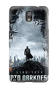 Galaxy Note 3 YY-ONE - Slim Fit Tpu Protector Shock Absorbent Case (star Trek Into Darkness)