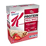 Special K Protein Meal Bars, Strawberry, 9.5 oz (6 Count)