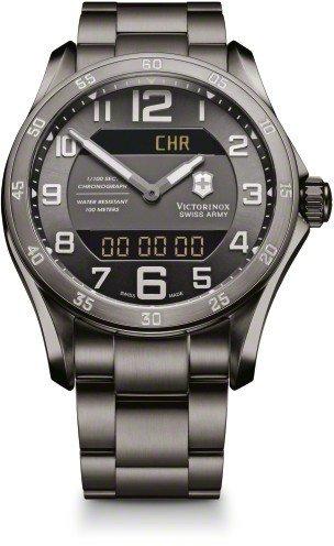Victorinox-Mens-V241300-Chrono-Classic-Digital-Swiss-quartz-Black-Watch