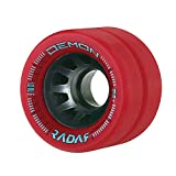 Radar Demon 62mm Roller Skate Wheels - 4 Pack 2012