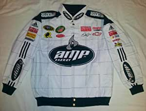 New! Chase Authentics White & Green AMP Energy National Guard #88 Dale Jr. Nascar Racing Jacket