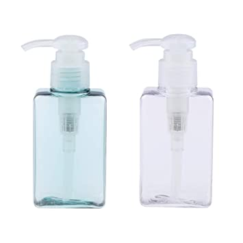 8d8164f08777 Amazon.com : CUTICATE 2PCS Empty Shampoo Pump Bottles, 100ML, BPA ...