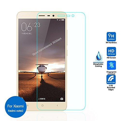 62fa7b4fd Image Unavailable. Image not available for. Colour  Kaira 9H Hardness Toughened  Tempered Glass Screen Protector For Xiaomi Redmi Note 3 ...