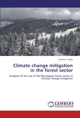 Climate change mitigation in the forest sector: Analyses of the use of the Norwegian forest sector in climate change mitigation