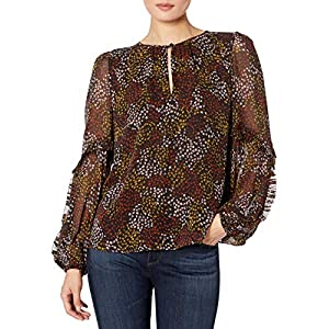 Joie womens19-5-006302-TP03493Long Sleeve Blouse Shirt