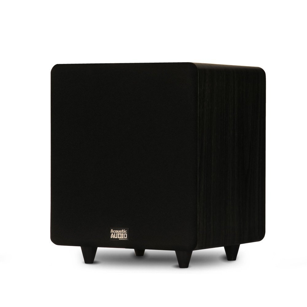 Acoustic Audio by Goldwood 10 Inches 400 Watts Lfe Subwoofer Black (PSW400-10) by Acoustic Audio by Goldwood
