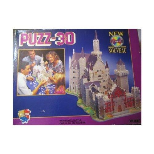 Puzz 3d 1000pc Jigsaw Puzzle Bavarian Castle by Wrebbit Toys