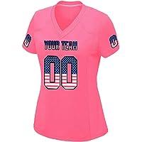 womens plain football jerseys