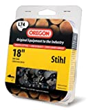 Oregon 18-Inch Pro-Guard Chain Saw Chain Fits Stihl L74